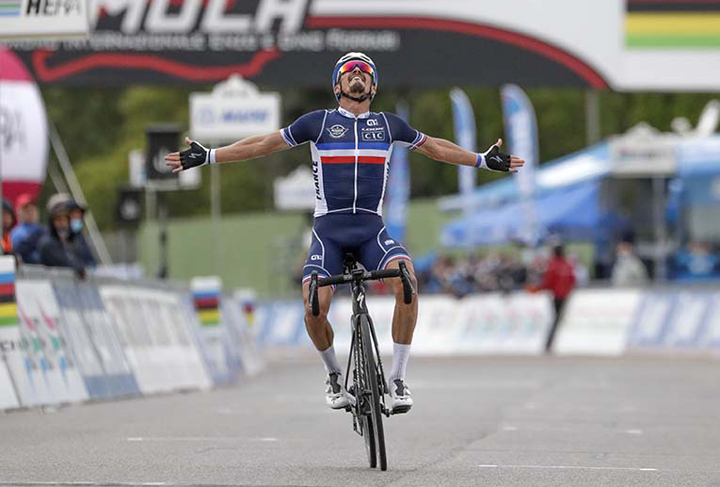 France's Alaphilippe wins world road race title