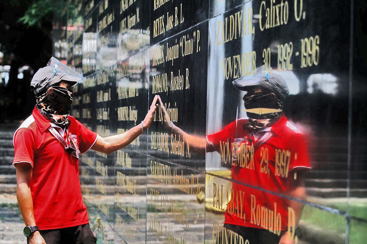 NEVER AGAIN   Labor, other groups mark martial law anniversary with protest   Samuel P. Medenilla - Business Mirror