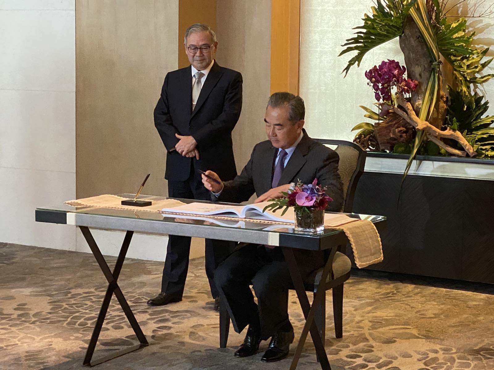 Wang: China stands behind ASEAN