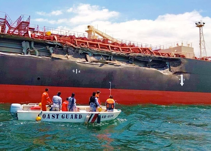 Two ships collide in Cavite waters; no casualties reported but fuel leak feared